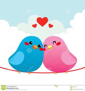 loving bird couple 28647570