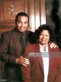 michael jackson's beautiful parents katherine jackson and joe jackson - michael-jackson photo