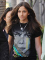 michael jackson's daughter paris jackson got her michael jackson shirt on - michael-jackson photo
