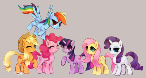 My Little Pony Friendship is Magic wallpaper probably containing anime titled mlp   fanart is magic  by 1 084 d6r7d8t