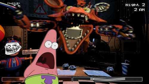 Five Nights at Freddy's 壁紙 entitled patrick in FNAF