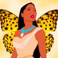 pocahontas as a butterfly - pocahontas fan art