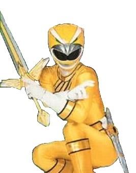 power rangers wild force yellow ranger