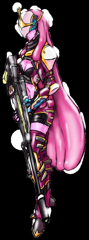 princess bubblegum-Space warrior