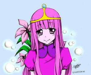 princess bubblegum-cute fanart