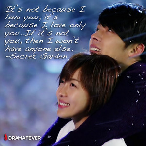 secret garden korean drama quote dramafever n3bie42