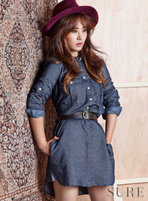 snsd kwon yur vivian sure magazine november 2015 photoshoot fashion 1