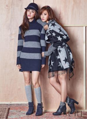 snsd kwon yur vivian sure magazine november 2015 photoshoot fashion 2