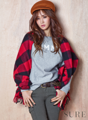 snsd kwon yur vivian sure magazine november 2015 photoshoot fashion 3