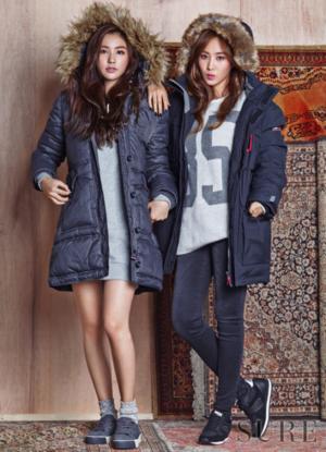 snsd kwon yur vivian sure magazine november 2015 photoshoot fashion 4