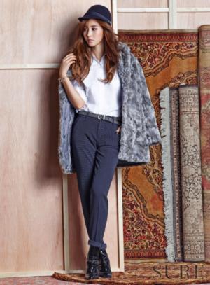 snsd kwon yur vivian sure magazine november 2015 photoshoot fashion 5