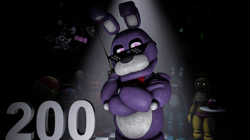 Five Nights at Freddy's wallpaper titled so much swag    200   sfm  by ninidan d8ru717