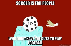 soccer is for