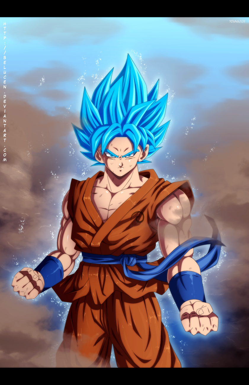 Dragon Ball Z images super saiyan god super saiyan goku by ...