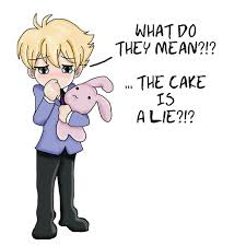 the cake is a lie :(