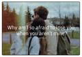 Afraid - quotes fan art