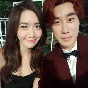 [151107] Yoona with SanE - 2015 Melon música Awards