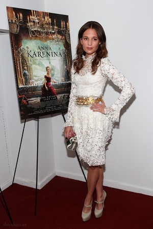 'Anna Karenina' New York Premiere