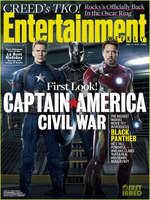 'Captain America: Civil War' Gets an 'EW' First Look Cover!