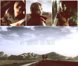 *Leon* *Claire* *Sherry* --- Survivors of Raccoon City