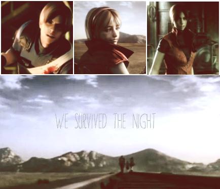 *Leon*  *Claire*  *Sherry* --- Survivors of Raccoon City