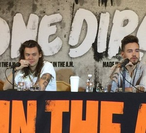 Press conference in Mexico