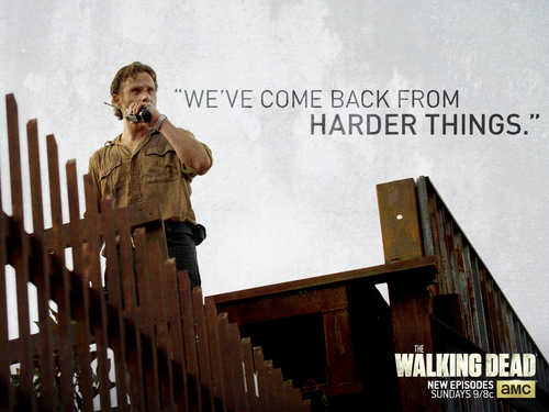The Walking dead wallpaper called Rick Grimes
