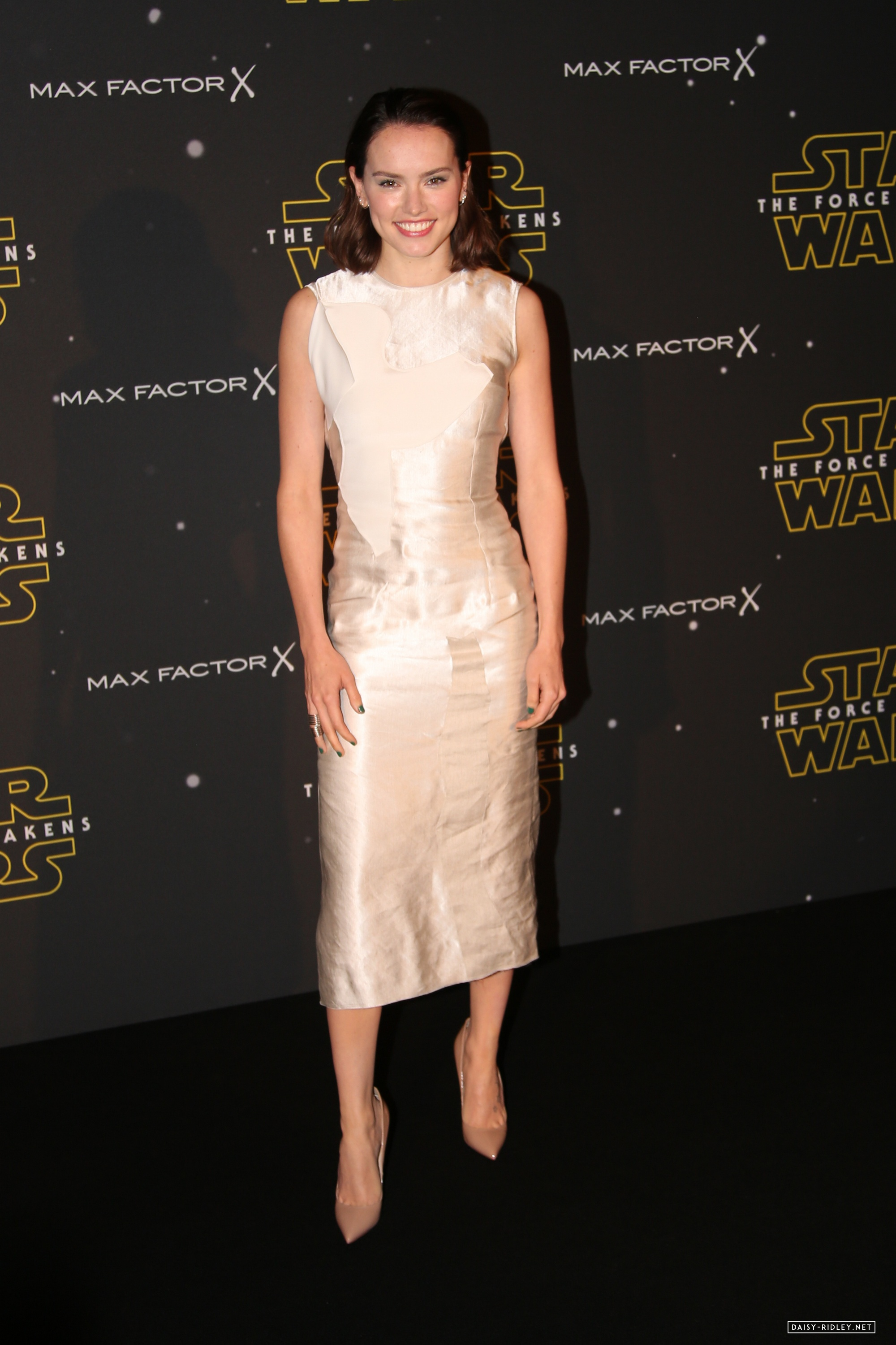Daisy Ridley and Bobby Abley attend the Star Wars: Fashion