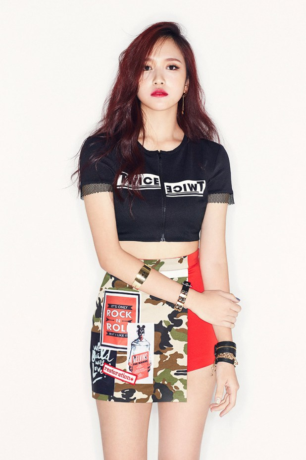 TWICE Official debut pictures