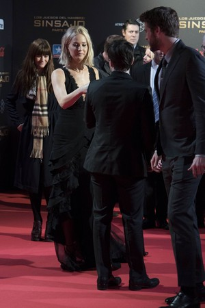 'The Hunger Games: Mockingjay - Part 2' Madrid Premiere (November 10, 2015)