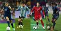 Alex Morgan - Lionel Messi - Cristiano Ronaldo - Louisa Necib