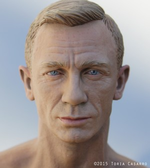 1/6th scale Daniel Craig 의해 Toria Casarro