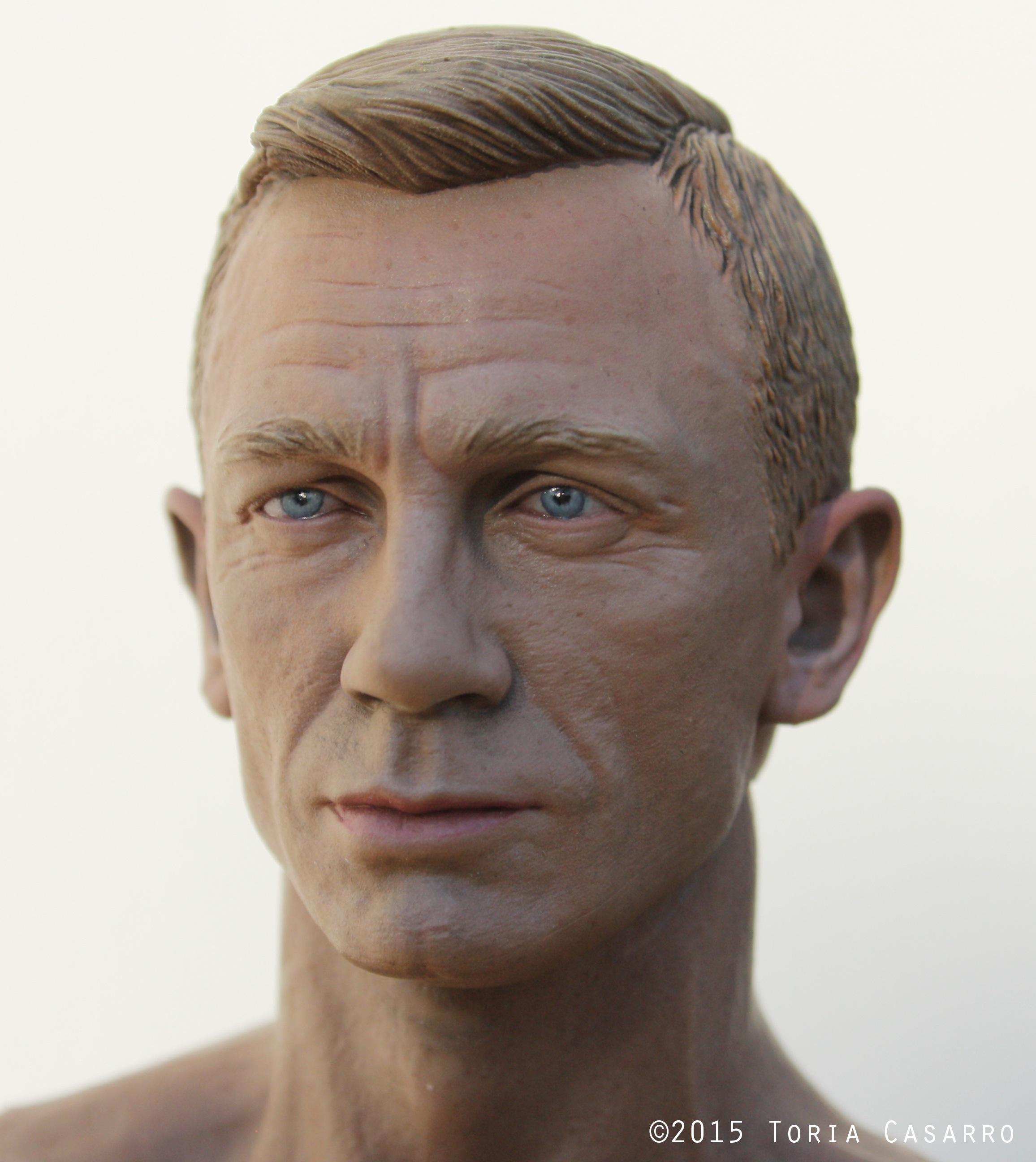 1/6th scale Daniel Craig by Toria Casarro