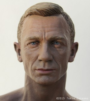 1/6th scale Daniel Craig by Toria Casarro