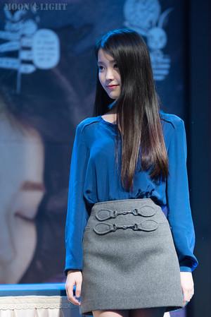 151106 IU at 'CHAT-SHIRE' Mini Album fan Meeting