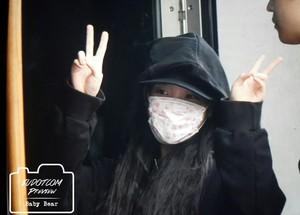 151115 IU Arriving at Sudden Attack Mini fan Meeting