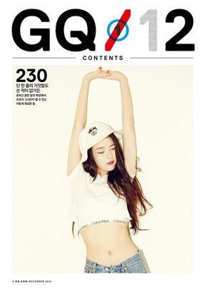 151119 IU for GQ KOREA Magazine for December 2015 Issue