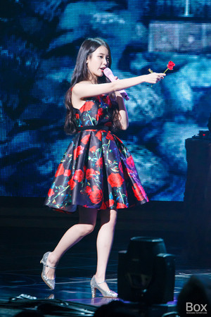 151129 IU 'CHAT-SHIRE' کنسرٹ at Busan