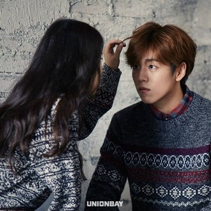 151204 IU and Lee Hyun Woo for UNIONBAY Facebook Update