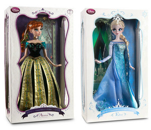"17"" Limited Edition Anna and Elsa Куклы"