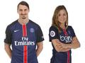 Mash up : Zlatan Ibrahimovic - Laure Boulleau. - soccer photo