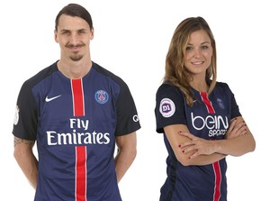 Mash up : Zlatan Ibrahimovic - Laure Boulleau.