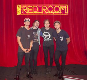 5sos in Nova's Red Room
