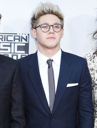 Niall Horan wolpeyper containing a business suit, a suit, and a double breasted suit called AMA's 2015