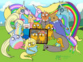 AT_ the dog family  - adventure-time-with-finn-and-jake photo