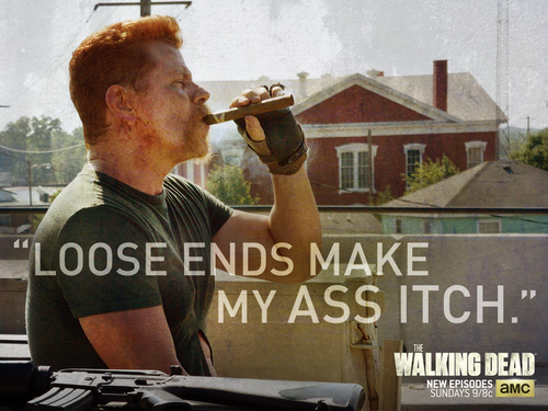 The Walking Dead پیپر وال entitled Abraham Ford