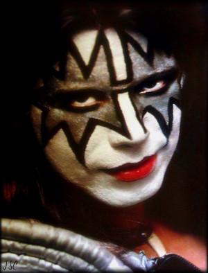 Ace 1975 (backstage Cobo Hall)