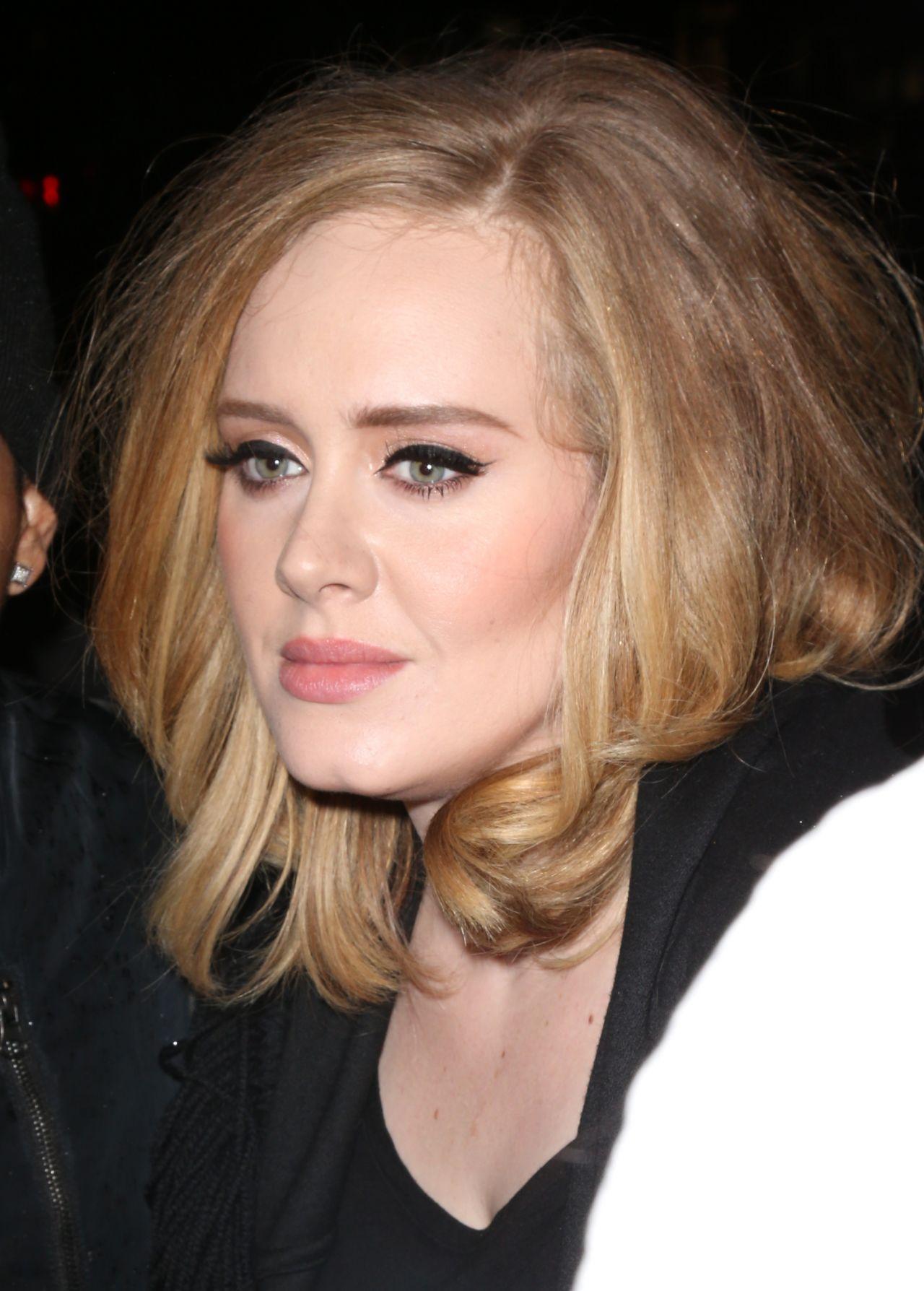 Adele in New York city