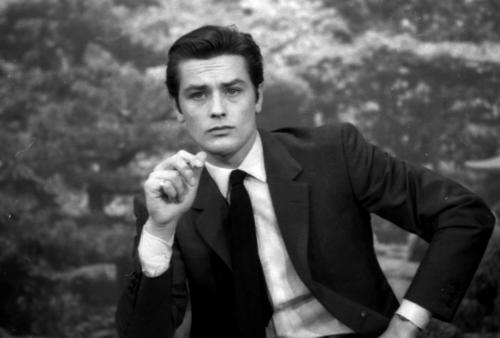 알랭 들롱 바탕화면 with a business suit and a suit entitled Alain Delon