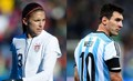 Alex - Messi  - soccer photo